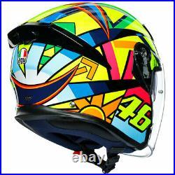 AGV K5 Jet Open Face Motorbike Motorcycle Urban Helmet Soleluna 2017