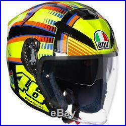 AGV K-5 Jet Soleluna Open Face Motorcycle Helmet XL Multicoloured Motorbike Bike