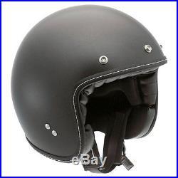 AGV RP60 Matt Black Open Face Jet Cruiser Scooter Motorcycle Helmet All Sizes