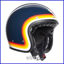 AGV X70 Riviera retro urban vintage classic touring open face motorcycle helmet