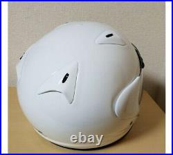 ARAI GENUINE OEM SZ-LIGHT GLASS WHITE OPEN FACE HELMET XXS (51-52cm Jr. Type)