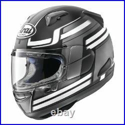 ARAI Quantum X Full Face Motorcycle Helmet Comp Black Medium Open Box Sale