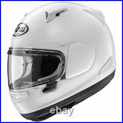 ARAI Quantum X Full Face Motorcycle Helmet Pearl White Xlarge Open Box Sale