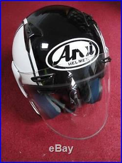 ARAI X-TEND Open Face Scooter / Motorcycle Helmet Size M 57/58 cm