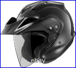 Arai CT-Z Gloss Black 3/4 open face motorcycle helmet Sizes XS to XXL XXXL 2X 3X