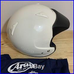 Arai Classic C DOT Open Face Motorcycle Sz XL Helmet with Dust Bag 7 1/2- 7 5/8