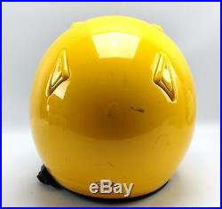 Arai Classic M2000 Snell Yellow Open Face Motorcycle Helmet & Wires Size L