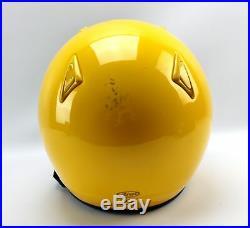 Arai Classic Snell Yellow Open Face Motorcycle Helmet Size 3XL