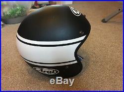 Arai Freeway Classic Bandage Black Motorcycle Helmet Open Face XL