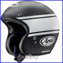 Arai Freeway Classic Bandage Black Open Face Motorcycle Helmet Large