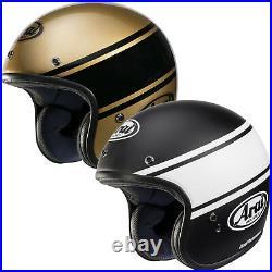 Arai Freeway Classic Bandage Open Face Motorcycle Crash Helmet Bronze Black