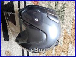 Arai Genuine Oem Jet Open Face Helmet Black L Size