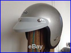 Arai Genuine Oem S-70 Jet Helmet Simple Silver Open Face Helmet M Size