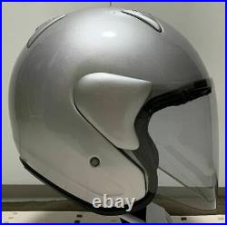 Arai Genuine Oem Sz-m Alumina Silver Open Face Helmet M Size