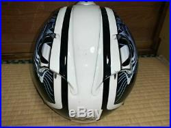 Arai Genuine Oem Sz-ram3 Lip Tide Blue Open Face Jet Helmet L Size