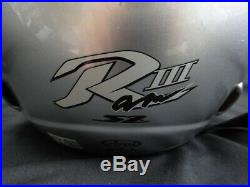 Arai Genuine Oem Sz-ram3 Simple Silver Open Face Helmet L Size