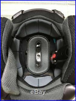 Arai Genuine Oem Sz-ram4 Flat Black Open Face Jet Helmet L Size