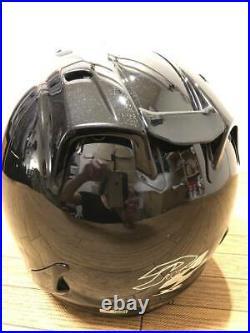 Arai Genuine Oem Sz-ram4 Glass Black Open Face Helmet L Size
