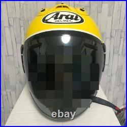 Arai Genuine Oem Sz-ram4 Strobe Yellow Open Face Helmet L Size