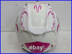 Arai Genuine Oem Sz-ram4x Style Pink Open Face Helmet M Size