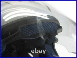 Arai Genuine Oem Sz-ram Simple Glass Silver Open Face Helmet M Size