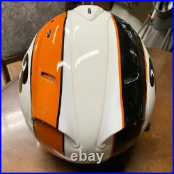 Arai Genuine Oem Sz-ram Stout White Open Face Helmet L Size