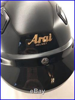 Arai Helmet Snell Classic M Open Face Motorcycle Helmet Black Size Large