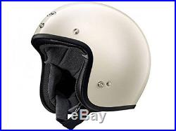 Arai Japan Motorcycle Helmet CLASSIC MOD Pilot White Open Face