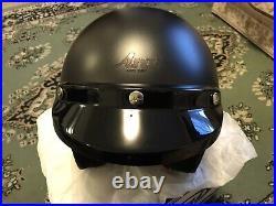 Arai Open Face Classic Freeway 2 Black Frost L Size Motorcycle Helmet With Visor