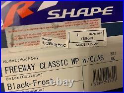 Arai Open Face Classic Freeway Black Frost L