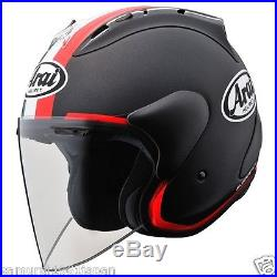 Arai Open Face Helmet SZ-RAM4 S/M/L/XL Matte black + tricolor casco JAPAN