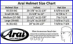 Arai Open Face Helmet SZ-R VAS RAM-X vz-ram KODO2 FU-JIN RAI-JIN japan LTD Gloss