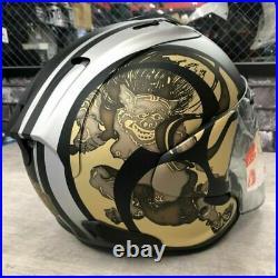 Arai Open Face Helmet SZ-R VAS ram-X vz-ram KODO2 FU-JIN RAI-JIN LTD black gold