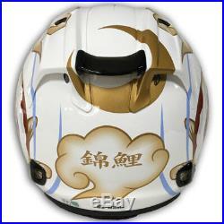 Arai Open Face Helmet VZ-RAM NISHIKIGOI WHITE LIMITED production JAPAN casco f/s