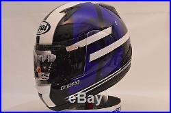 Arai RX-Q Conflict Blue Sport Full Face Motorcycle Helmet Lg Open Box 818303