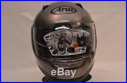 Arai RX-Q Diamond Grey Sport Full Face Motorcycle Helmet Sm Open Box 813181