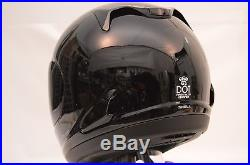 Arai RX-Q Pearl Black Sport Bike Full Face Motorcycle Helmet 2X Open 813105