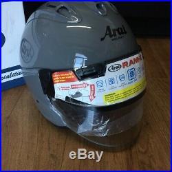 Arai Ram-X Open Face Helmet Modern Grey Size Medium