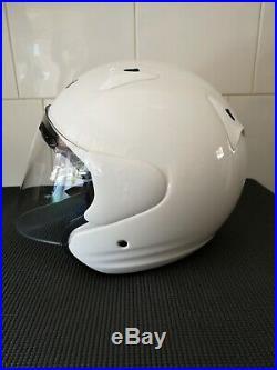 Arai SZ/F Open Face Motorcycle Helmet (Large)