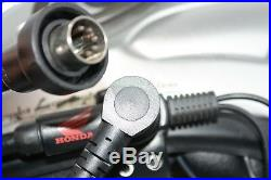 Arai SZ-RAM 3 SILVER Motorcycle Open Face Helmet SIZE M Honda Microphone T092