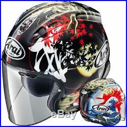 Arai SZ-R Open Face Motorcycle Motorbike Helmet Oriental 2