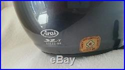 Arai SZ-f Open Face Motorcycle Helmet Size L Rrp £249.99