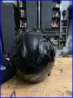 Arai Sz-Ram3 Xl Helmet Black Open Face Shield With Protective Bag