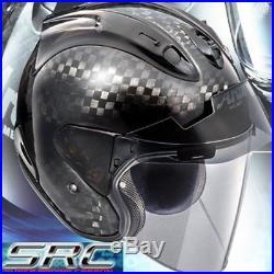 Arai VZ-RAM SRC Carbon Open Face Jet Helmet M size Make-to-order product Japan
