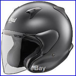 Arai X-Tend Open Face Touring Motorcycle Helmet Frost Black Helmet XSmall