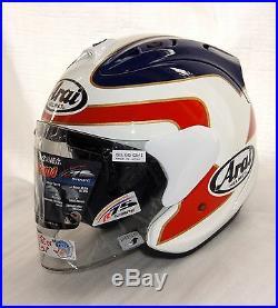 Asian fit Arai Open Face Helmet SZ-RAM4 RAM-X SPENCER Rothmans Casque casco