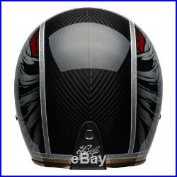 BELL CUSTOM 500 Carbon Osprey Black/Yellow 2019 Retro/Street Open Face Helmet