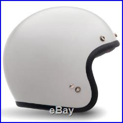 BELL CUSTOM 500 Gloss Vintage White OPEN FACE CLASSIC STYLE MOTORCYCLE HELMET