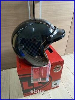 BELL CUSTOM 500 RSD CHECK IT MOTORCYCLE OPEN FACE CRASH HELMET XL 60-61cm