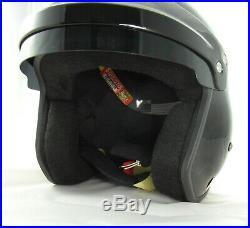 BF1-R7 SAH2010 Open Face Hans Helmet. Snell 2010. FIA8858. White or Black XS